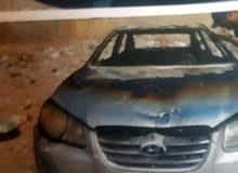 هيونداي النترا 2010 محترقة