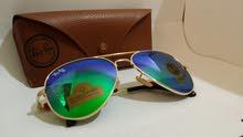 Ray Ban sunglasses hard aviator made in Italy