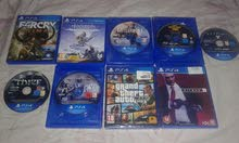 Ps4 games used & new