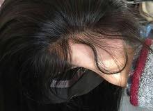 متوفر شعر طبيعي100٪ كامل مع بيبي هير