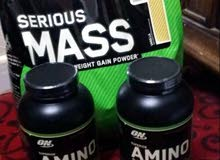 بروتين  AMINO و MASS جديد