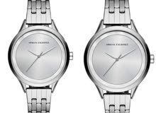 Armani ExchangeWomen's Silver Sunray Dial Watch