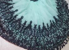 للبيع فستان خطبة ملبوس مرة وحدة بس