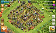 كلاش اوف كلانس . clash of clans