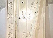 باب حديد ضلفة وربع
