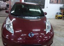 Maroon Nissan Leaf 2015 for sale