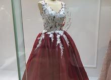 للبيع أحدث التصاميم لفساتين السهره ويمكن تنفيذ اي موديل علي الصوره