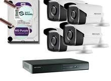 تركيب كاميرات مراقبة وأنظمة السلامة