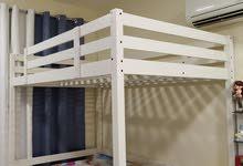 IKEA bunk is in excellent condition سرير مرتفع من ايكيا بحالة ممتازة د.إ.1٬300