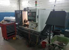 آلات خراطة و تشكيل وتفريز (( cnc ))صناعة تايوانية الكترونية للبيع بكامل المعدات
