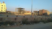 #أرض_للبيع بحدائق أكتوبر المحصورة -أ- (السياحية) واجهة بحرية 414م