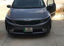 Renting Kia cars, Cerato 2018 for rent in Amman city