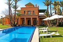 فلل مفروشة للايجار في مراكش