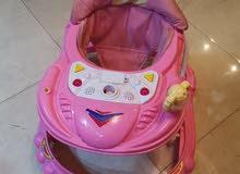 مشاية اطفال بناتية للبيع بسعر مغري 5 دنانير فقط