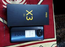 موبايل Poco X3 NFC 128 جيجا استعمال شهرين