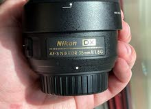 two Nikon lens عدستين نيكون