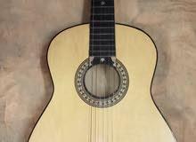 جيتار خشب كلاسيكي احمر