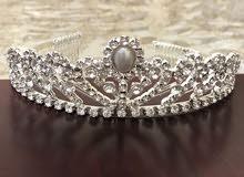 تاج عروس  للمرأة الجميلة جديد  بسعر مغري  -  A bride's crown  at attractive price