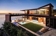 منزل للبيع بالأتاث عين زارة( مقسم شمسي)
