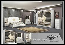 عرض لفترة محدوده غرفه نوم تركي 9 قطع مع تركيب والدوشك والتوصيل