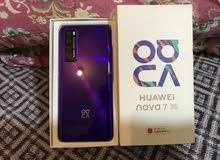Huawei nova 7 5g 8gb ram 256gb storage