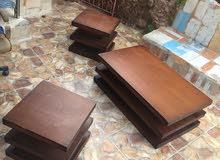 طقم طاولات 1وسط و2 جانبي