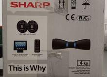 Sharp wireless Bluetooth speaker system