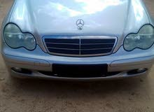 Mercedes Benz C 180 car for sale 2002 in Gharyan city