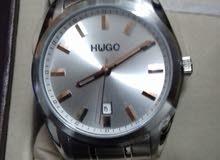ساعة Hwgo رجالى (جديدة ولم تستخدم) للبيع