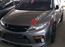 Kia Forte 2013 For sale - Black color