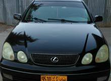 لكزس موديل 2002 ،GS  300 نظيف جدا