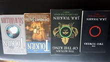 JRR Tolkien Books (LOTR Two Towers & Return of the King, Unfinished Tails, Silmarillion)