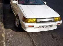 Manual White Toyota 1985 for sale