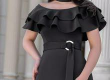 فستان اسود ستايل جديد