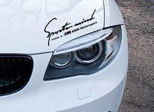 BMW Sport Mind Produced by M Motorsport Black Sticker Decal