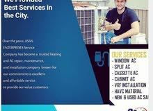 Get 40% Discount on Air conditioning service and installation.