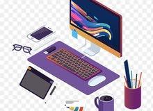 مطلوب مدرب الجرافيكس ومواقع التصاميم والتسويق    - envato-  graphicriver - Merch by Amazon
