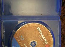 دسكة ان شارتد ( PS4  UNCHARTED 4 ) عربية