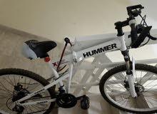 دراجة هامر اصلية بحالة ممتازة.... HAMMER bike in excellent condition