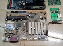 بورده كمبيوتر بنتيوم3 وبنتيوم4 قطع غيار