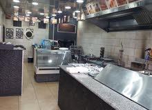 عدة مطعم شورما معجنات طبايخ كاملة للبيع