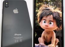 iPhone X مع كامل ملحقاته الاصليه والكرتون
