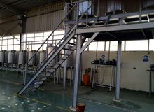 Stainless Steel tanks and mixer tanks along with various volumes 316L and pumps