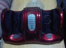 جهاز مساج للارجل ثلاث سرعات امريكي مستعمل استعمال خفيق  نوعه امريكي