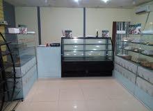 محل حلويات للبيع