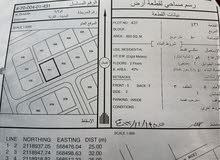 ارض سكنية للبيع في ولاية الدقم