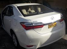 For sale 2019 White Corolla