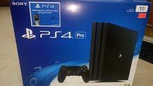 sony PS4 Pro , jet black , 1TB