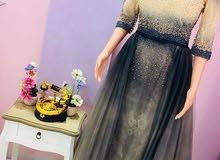 فستان سهرة مقاس 44 للبيع