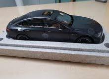 مجسم مرسيدس AMG GT 63s لون رمادي مطفي/ Mercedes AMG GT 63s 4 doors - scale model Dealer's Edition